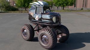 Monster Car Toon
