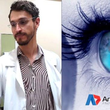 Residente do HUBFS cria aparelho para diagnosticar catarata