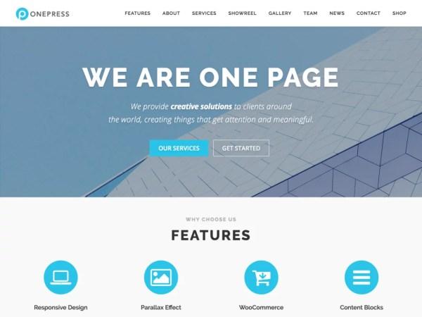 Template OnePress