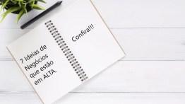 7 Ideias de Negócios lucrativos que estão em ALTA!