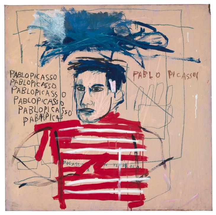 Schirn_Presse_Basquiat_Untitled__Pablo_Picasso__1984