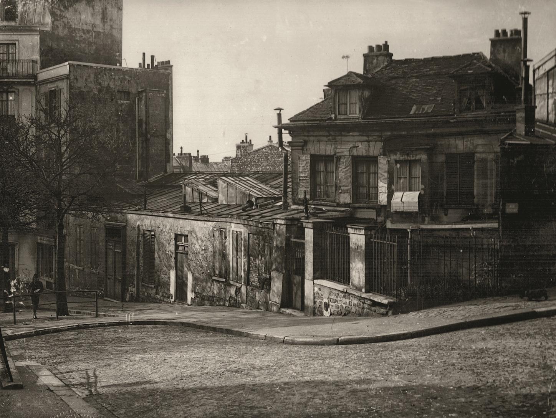 le bateau lavoir, 13 rue Ravigan (c) anonyme _ collection Le Vieux Montmartre
