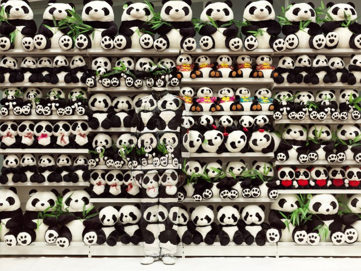 Liu Bolin_Panda_Hiding in the City_2011© Liu Bolin_Courtesy Galerie Paris-Beijing.jpg