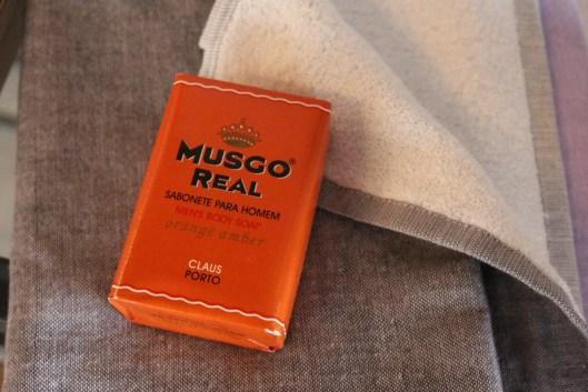 japanese towel + portugese soap 120214