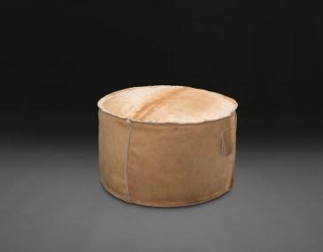 """30"""" round pouf"""