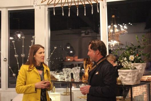Tom Verellen at Artefact Home Garden - visiting for the inaugural Boston Design Week