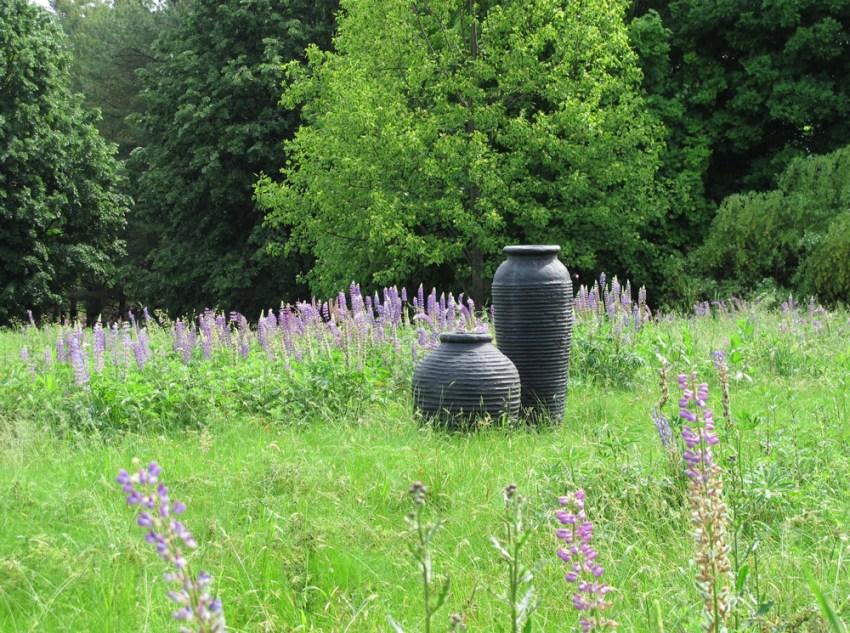 beehive-planters-black-in-field-pn-artefacthome