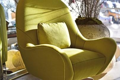 lutz swivel chair by verellen club linen@artefacthome