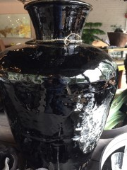 black chinese vessel