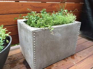 Riveted Rectangle with Herbs_Tonya 072914
