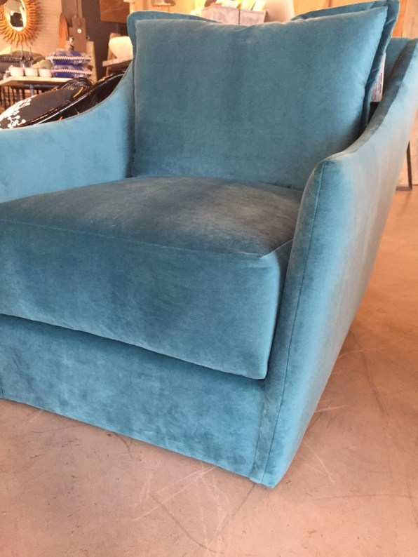 MABEL club swivel chair