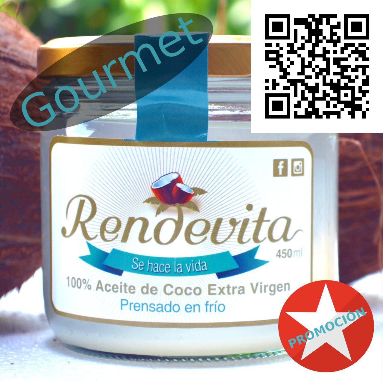 Promoción descuentos en Aceite Rendevita Gourmet