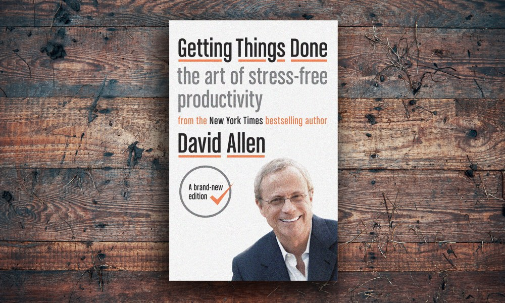 "Cover of the book ""Getting Things Done"" by David Allen"