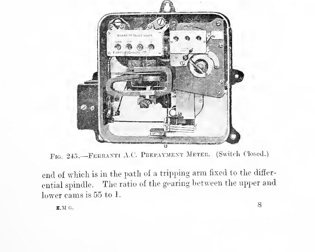 Ferranti Electric Limited Prepayment Meter Making Things