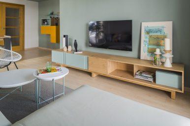 Vista reforma de Interior vivienda estilo nórdico Sevilla