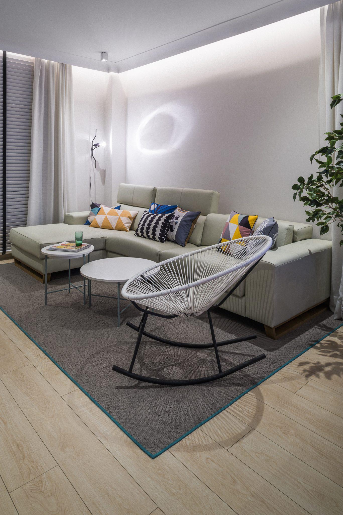 Detalle iluminación Reforma de Interior vivienda Sevilla