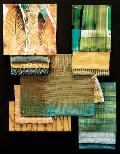 Telas inspiración tropical 2017 artefactum interiorismo sevilla