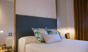 Dormitorio principal ático aljarafe artefactum interiorismo Sevilla C
