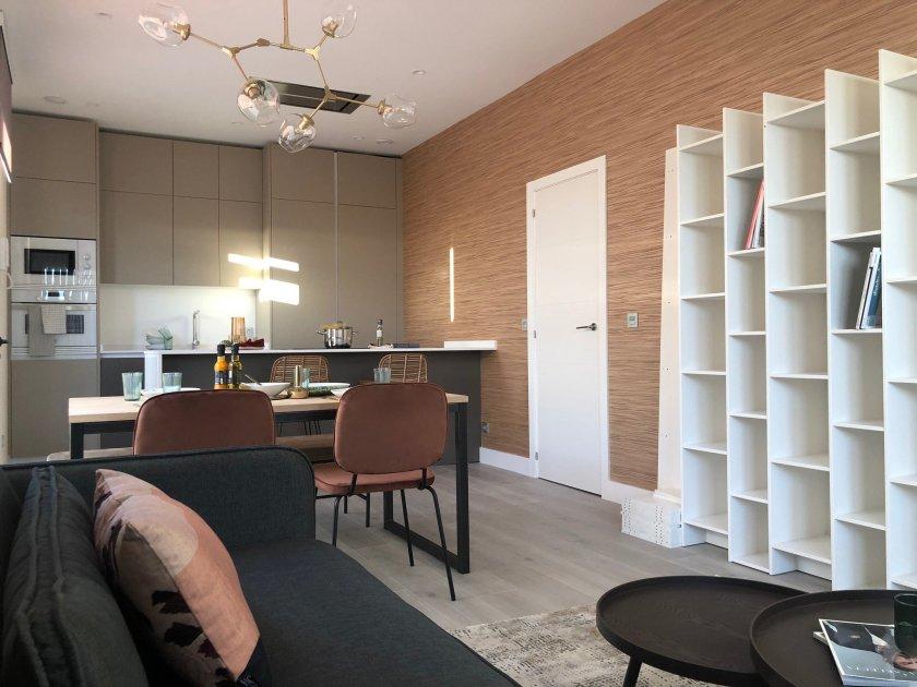 Interior vivienda diseño minimalista