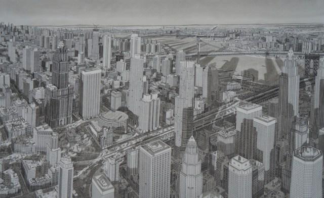 dibujo nueva york