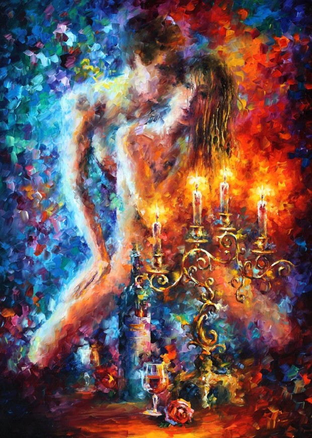 Pinturas de leonid afremov arte feed for Idea de pintura de corredor