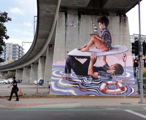 El arte callejero de Fintan Magee 1