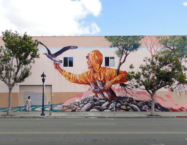 El arte callejero de Fintan Magee 10