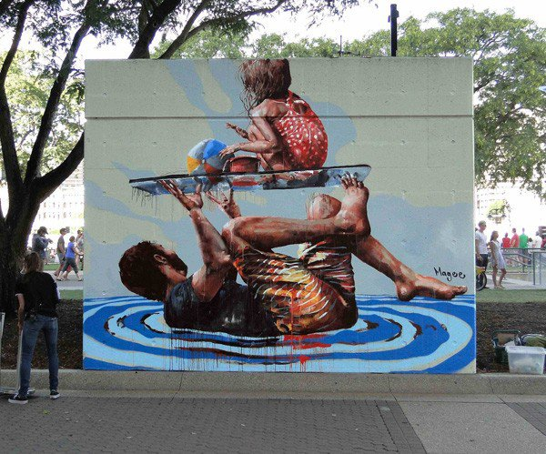 El arte callejero de Fintan Magee 14