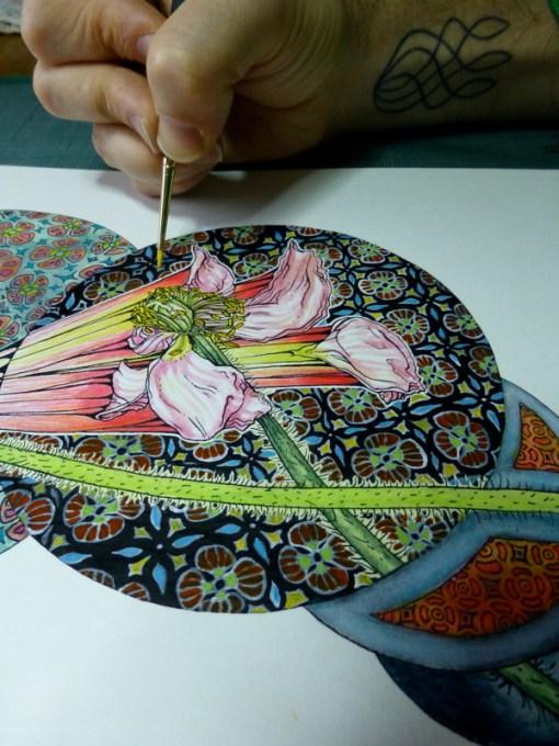 dibujos de flores  8