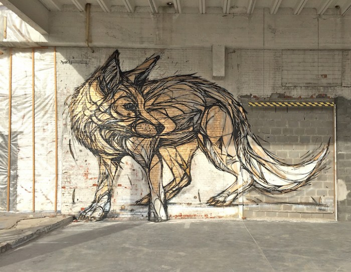 Animales en las paredes graffitis de dzia arte feed - Graffitis en paredes ...