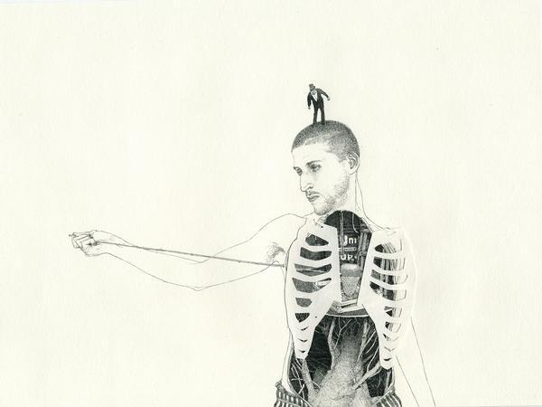 La naturaleza del hombre - Ilustraciones de Fabien Merell 4