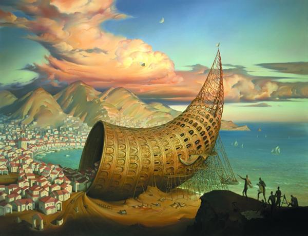 Vladimir Kush pinturas que te hacen pensar 3