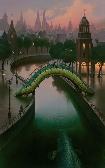 Vladimir Kush pinturas que te hacen pensar 6