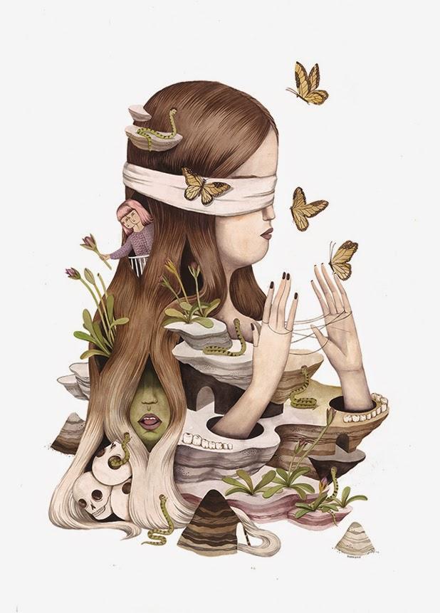 Ilustraciones de Andrea Wan 0