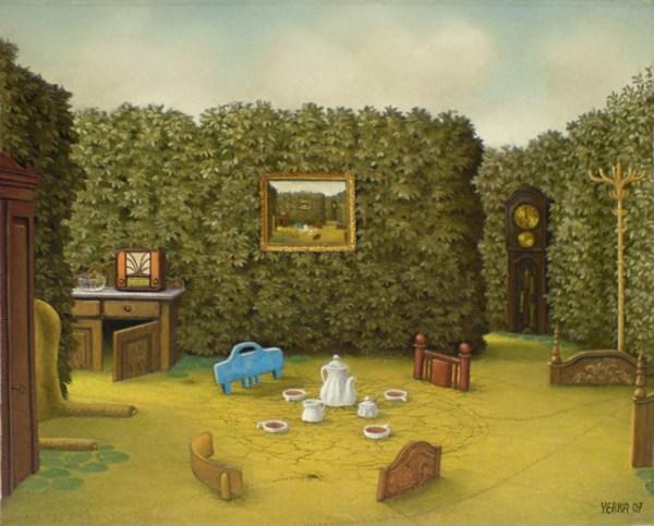 Jacek Yerka pinturas surrealistas 12