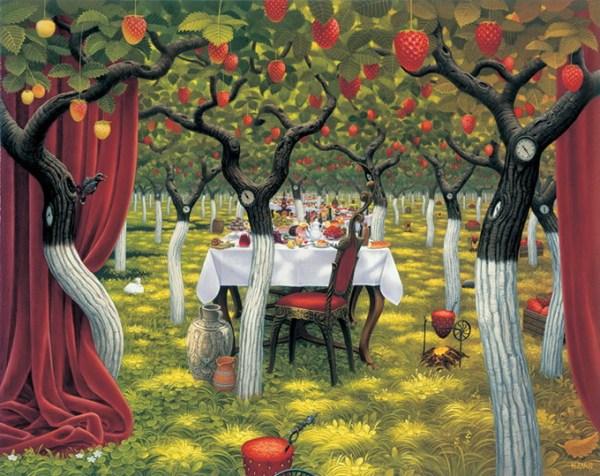 Jacek Yerka pinturas surrealistas 7