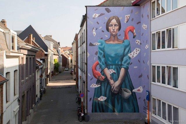 Arte callejero ciudades europa murales 1
