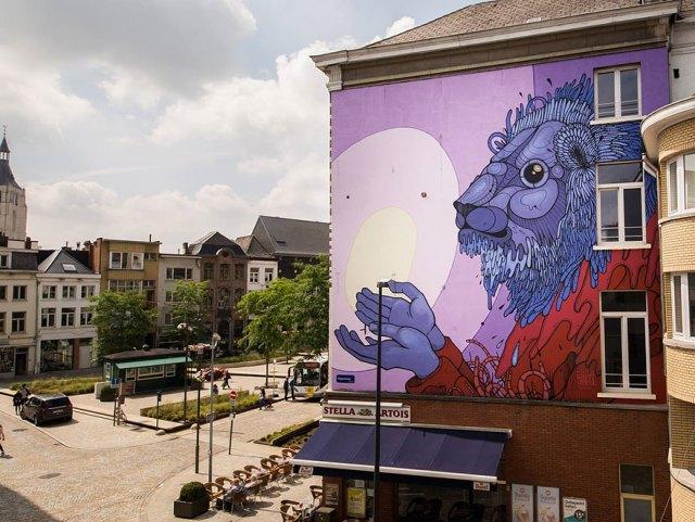 Arte callejero ciudades europa murales 10