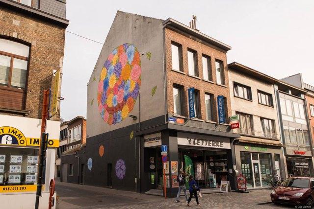 Arte callejero ciudades europa murales 7