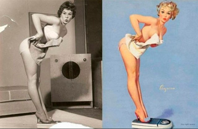 photoshop antiguo pin up 8