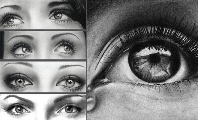 20 asombrosos dibujos realistas de ojos hechos a lápiz – Arte Feed