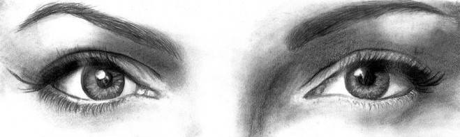 dibujos de ojos realistas 17