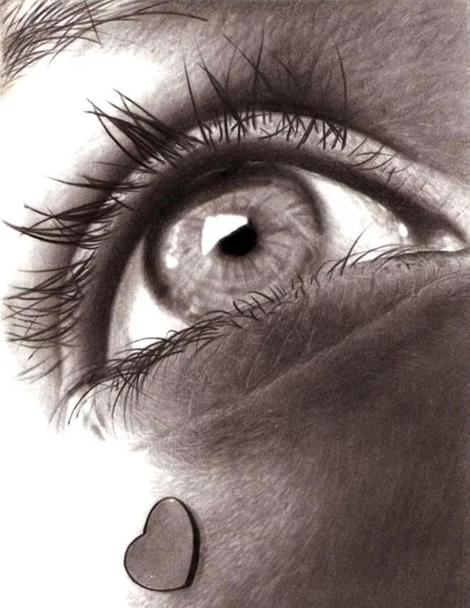 dibujos de ojos realistas  9