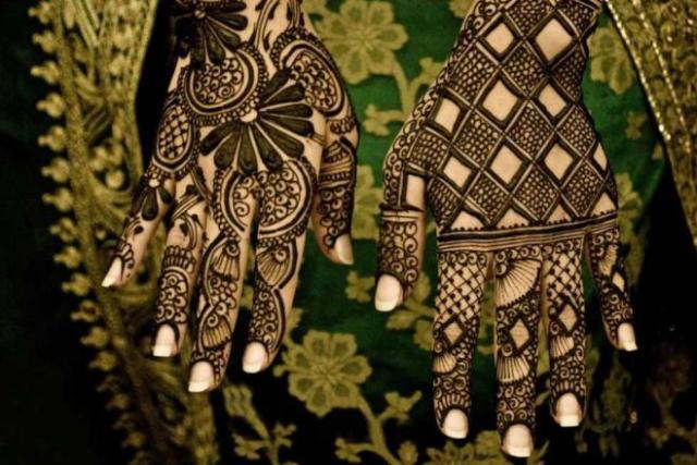 tatuajes henna india tradicional bodas mujeres 12