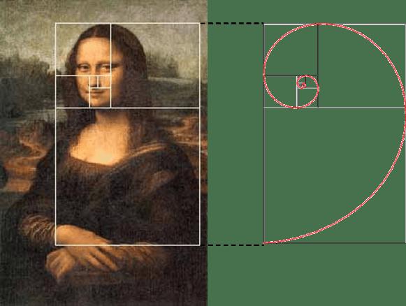 Mona lisa número aureo