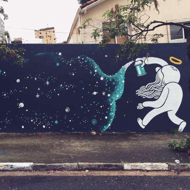 Divertidos murales callejeros de Muretz 9