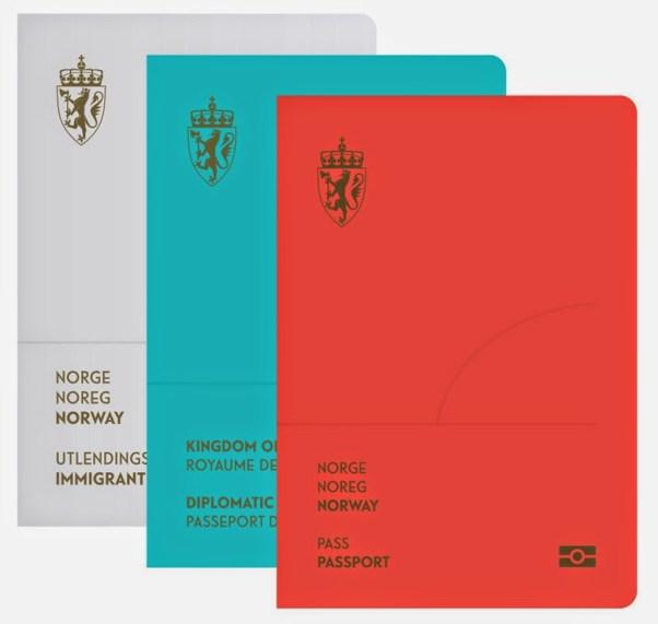 pasaporte noruega