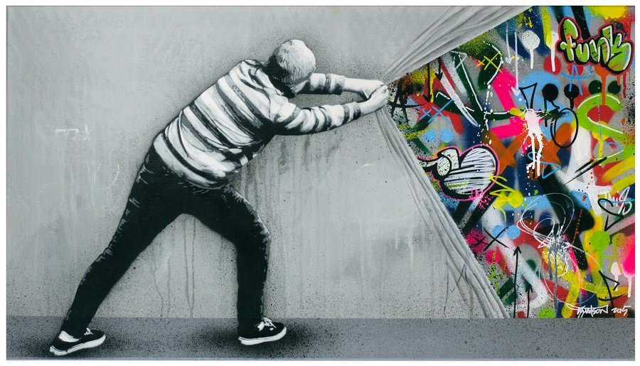 murales street art de martin whatson arte feed. Black Bedroom Furniture Sets. Home Design Ideas