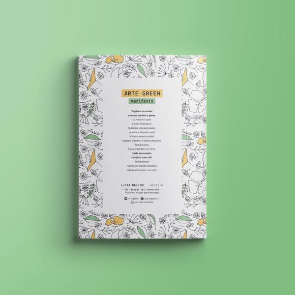 Campo di fiori · Anti-stress Arteterapia eBook · Licia Baldini · Arte Green