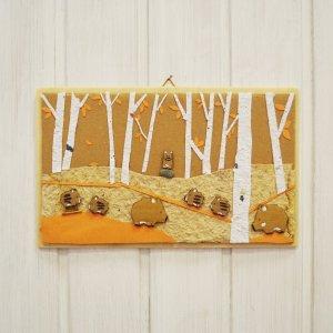 Quadretto famiglia di cinghiali nel bosco